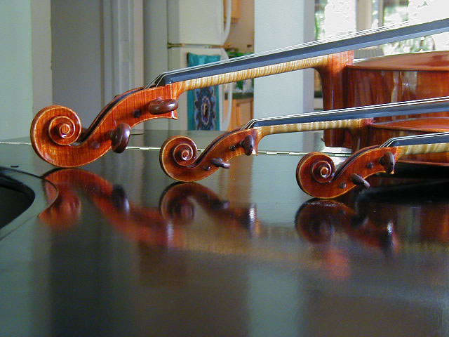Violin, Viola, and Cello, 2005